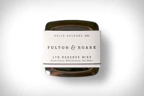 Masculine Solid Fragrances - The Fulton & Roark Captiva Cologne is Ideal for Traveling