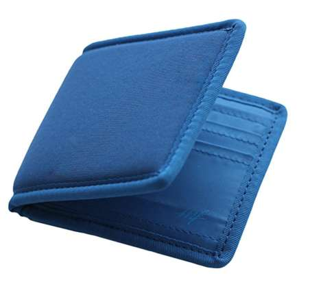 Compressing Foam Wallets - This Soft Memory Foam Wallet Won't Cause Discomfort When Sat On