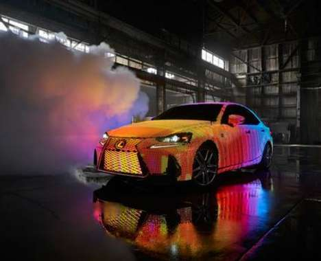 LED-Infused Car Exteriors