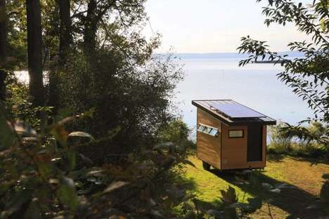 Miniature Office Trailers - This Tiny Office Space Can Go Completely Off-Grid