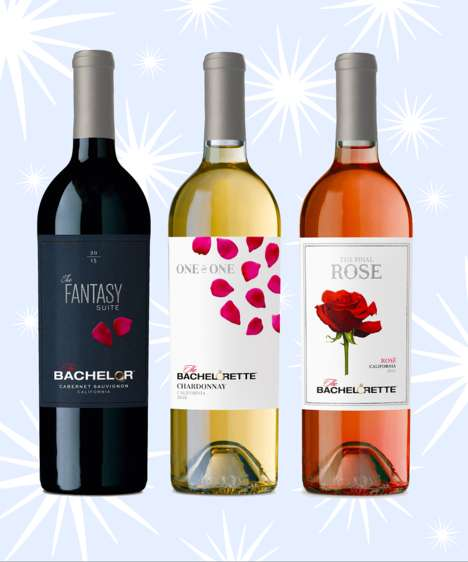 Dating Show-Inspired Wines - This Wine Branding Was Inspired by the Popular Dating Show The Bachelor