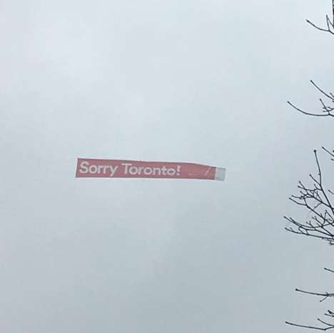 Apologetic Tourism Campaigns - Montreal's Sorry Tourism Campaign Sarcastically Apologizes to Cities