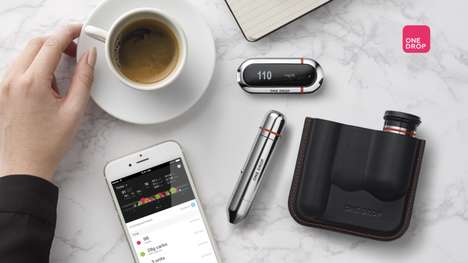 Smart Glucose Monitors - The 'One Drop Chrome' System Works with the Company's Software
