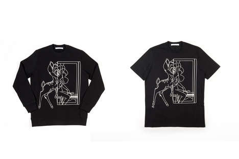 Updated Disney Fawn Apparel - Givenchy is Launching a Series of Bambi Shirts, Accessories and More