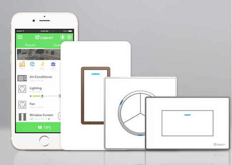 Home Automation Light Switches - The 'Yoswit' Smart Wall Switch Instantly Adds Automation
