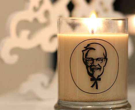 Fast Food-Scented Candles