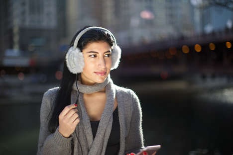 Ear-Warming Headphones - 'Music Muffs' Keep Consumers Ears Warm While They Listen to Music