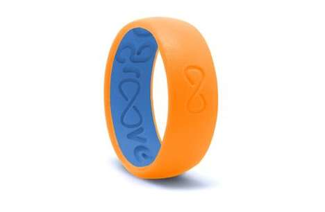 Silicone Active Rings - The Groove Ring Was Designed to Optimize Comfort and Enhance Workouts
