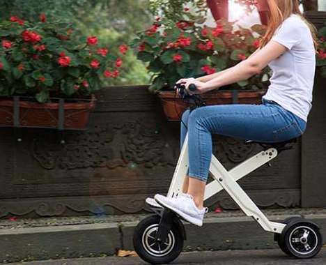 Foldable Flatpack Electric Scooters