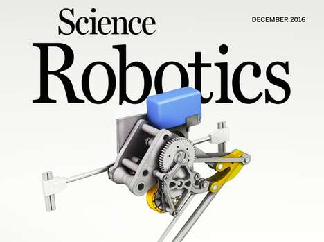 Robot-Focused Scientific Journals - 'Science Robotics' is an Academic Journal for Studying Robots