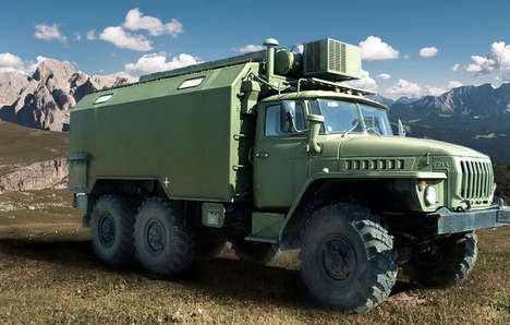 Military Truck Cameras - Photographer Kurt Moser Built a Truck That Acts as a Camera