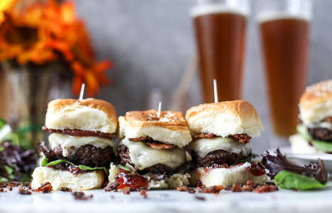 Coffee-Coated Brunch Burgers - These Homemade Brunch Sliders Contain an Espresso-Rubbed Beef Patty