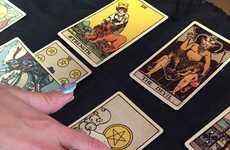 Mythical Crystal Manicures - Nail Swag's 'Tarot Nails' Service Involves a Tarot Card Reading