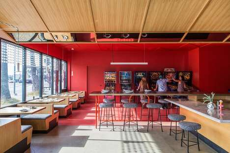 Hybrid Arcade Bars - Los Angeles' 'Button Mash' is a Cross Between an Arcade and a Restaurant