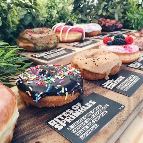 DIY Donut Shops - Los Angeles' 'Donut Friend Lets Customers Design Their Own Donut Sandwich