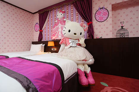 Anime-Branded Hotel Rooms - The Keio Plaza Hotel in Tokyo Offers Hello Kitty Rooms for Families