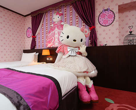 Anime-Branded Hotel Rooms