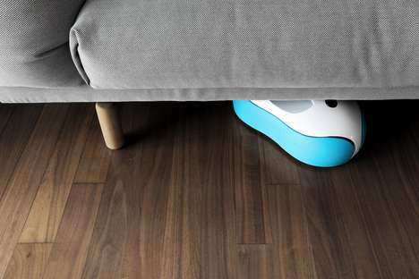 Floor-Mopping Robots - The Everybot RS500 Robot Mop Operates with a Single Touch