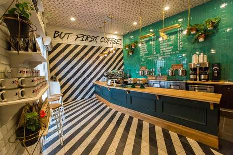 Fashion-Forward Coffee Shop - Los Angeles' 'Alfred Coffee' Boasts Instagram-friendly Decor