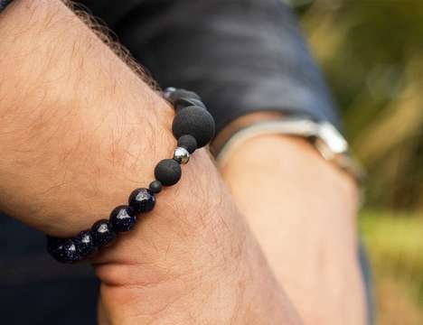 Fragrance-Infusing Jewelry - The 'Solaris' Unisex Bracelets Emit Your Fragrance Throughout the Day