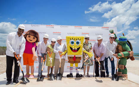 Cartoon-Themed Resorts - 'Nickelodeon Hotels & Resorts' is Opening a New Location in Riviera Maya