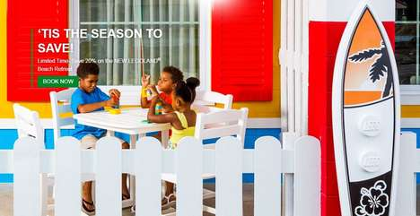 Beach-Themed LEGO Retreats - 'LEGOLAND Beach Retreat' Features Scores of Beachy Bungalows