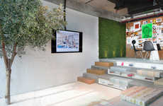 Offbeat Artsy Workspaces - 'Pallavi Dean Interiors' Designed This Space for Its Own Purposes