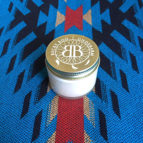 Zero Waste Deodorants - Becky Boo's 'Underarm' Organic Natural Deodorant is Made Without Waste