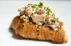 Lobster-Topped Croissant Rolls