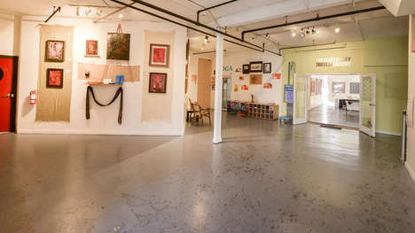Converted Warehouse Galleries - 'The Arts Factory' Showcases the Work of Local Artists