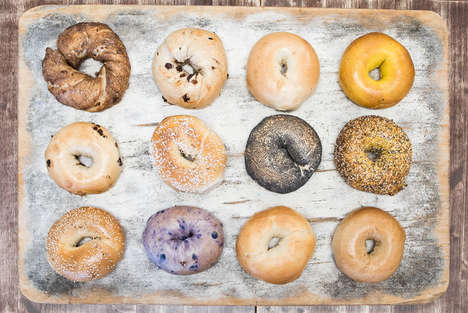 Decadent Dessert Bagels - 'The Bagel Nook' Offers Sweet Bagel Treats with Micro Batch Cream Cheeses