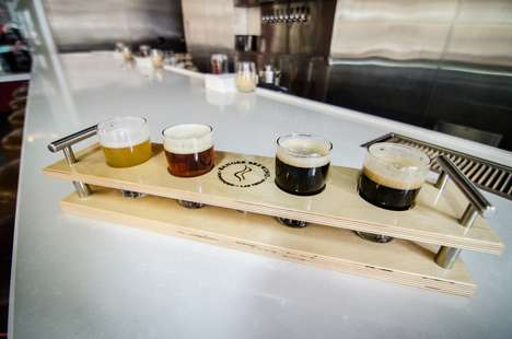 Beer Pairing Snack Menus - 'Banger Brewing' Pairs Each of Its Brews with a Tasty Snack