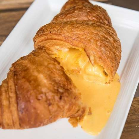 Egg Yolk Croissants - Flavor Fling's 'Salted Yolk Croissant' is Filled with Viscous Egg Yolk
