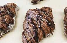 Double Chocolate Croissants