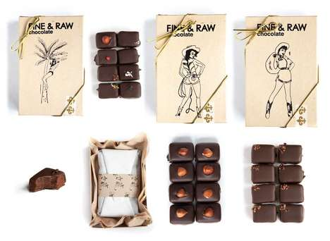 Small-Batch Chocolate Shops - Brooklyn's FINE & Raw Makes Artisan Treats from Conscious Ingredients