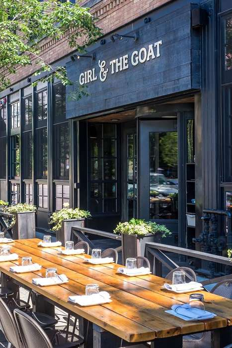 Rustic American Gastropubs - Chicago's 'Girl & the Goat' Elevates Classic Midwestern Fare