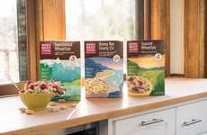 Outdoor Landscape Cereal Branding