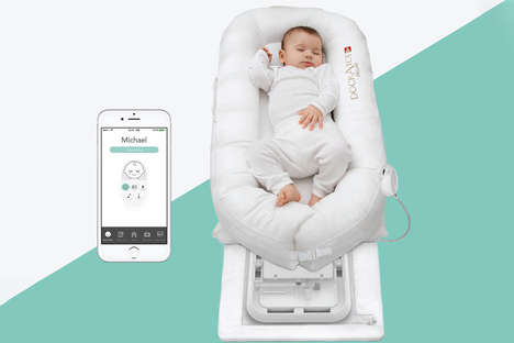 Intelligent Baby Loungers - DockATot Keeps a Baby Monitored Using Advanced Technology