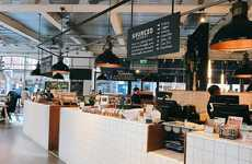 Locally Sourced Coffee Bars - London's 'Sourced Market' Sells Products Created by Local Artisans