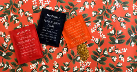 Single-Serve Spice Subscriptions - RawSpiceBar's 'Monthly Flavor Kit' Shares Fresh Spice Flavors