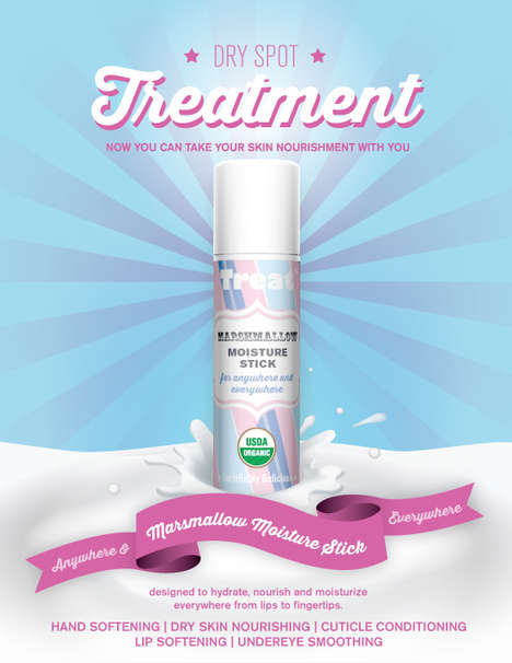 Multipurpose Moisturizing Sticks - This Treat Beauty Stick Offers Multiple Moisturizing Treatments
