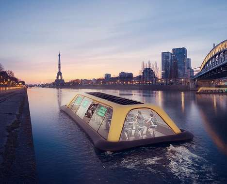 Floating Urban Workout Tours