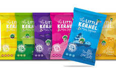 Olive Oil Popcorn Snacks - The Little Kernel Mini Popcorn Snacks are GMO-Free and Kosher