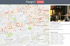 The Hangry Website Helps Users Find a Nearby Place to Dine