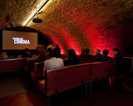Members-Only Movie Theaters - London's 'Whirled Cinema' Offers a More Intimate Movie Experience