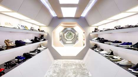 Avant-Garde Specialty Boutiques - London's LN-CC STORE is a High-End Concept Store with Unique Decor