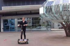 DIY Commuter Scooters - This DIY Arduino Segway Scooter Operates Like the Real Thing