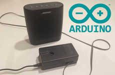 Voice-Activated Alarm Clocks - This DIY Alarm Clock Has an Arduino and a MOVI Speech Dialog Shield