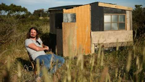 Scrap Material Micro Houses - This Tiny Home is Made from Garbage and Recycled Materials