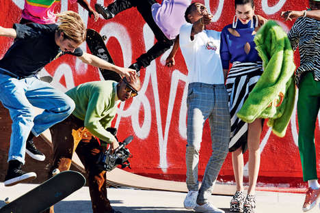 Playful Rap Group Editorials - This Vogue Spread Features Kendall Jenner, Tyler, The Creator & More